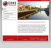 Core Estate Management Website