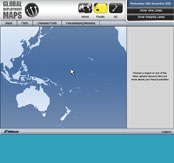 RNZN Global Deployment Maps Website