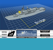 RNZN Virtual Frigate Website