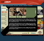 New Zealand Army Website